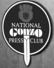 National Gonzo Press Club Logo by draic-freeman