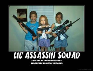 Lil' Assassin Squad by draic-freeman
