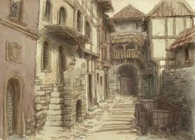 Medieval town 3 by Hetman80