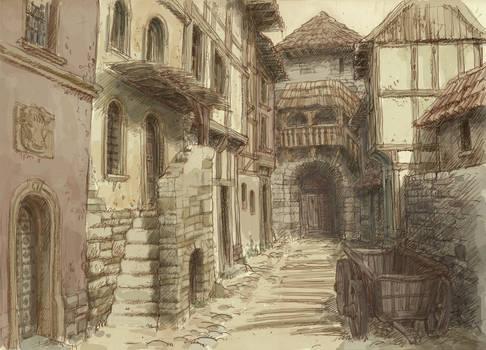 Medieval town 3