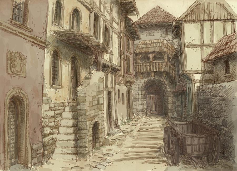 Calles de Camelot Medieval_town_3_by_hetman80-d4m1hk9