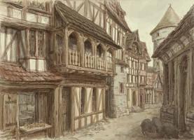 Medieval town 4 by Hetman80