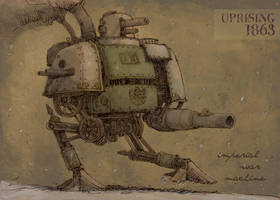 Imperial war machine by Hetman80