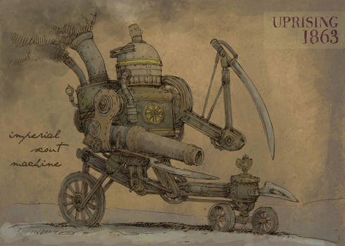 Imperial machine scout