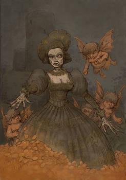 Ghost of Queen Bona Sforza