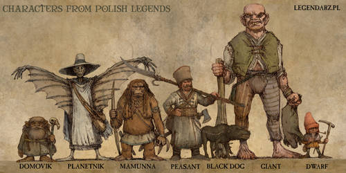 CHARACTERS FROM POLISH LEGENDS
