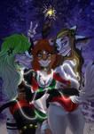 YCH Collab: Christmas girls