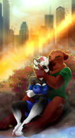 YCH: Romantic place