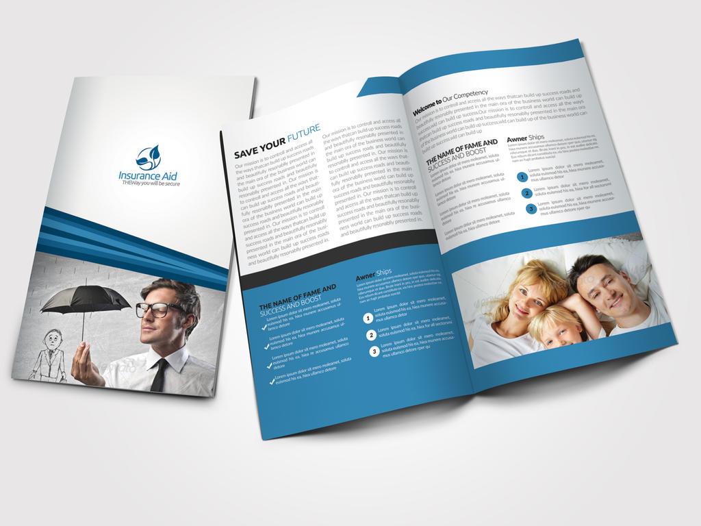 Insurance corporate bi fold brochure by designhub719 on deviantart insurance corporate bi fold brochure by designhub719 altavistaventures Image collections