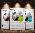 Simple Clean A4 Business Flyer
