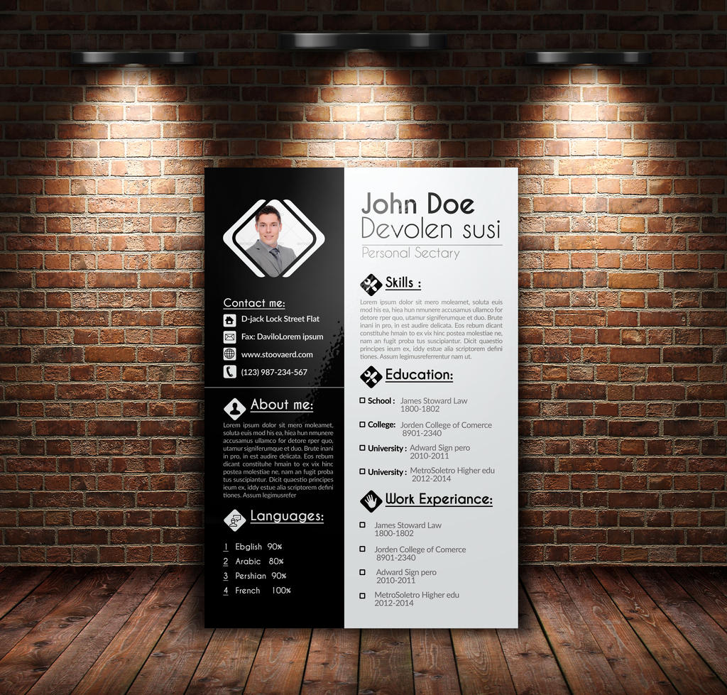 Resume / CV, Cover Letter, Portfolio by Designhub719 on ...