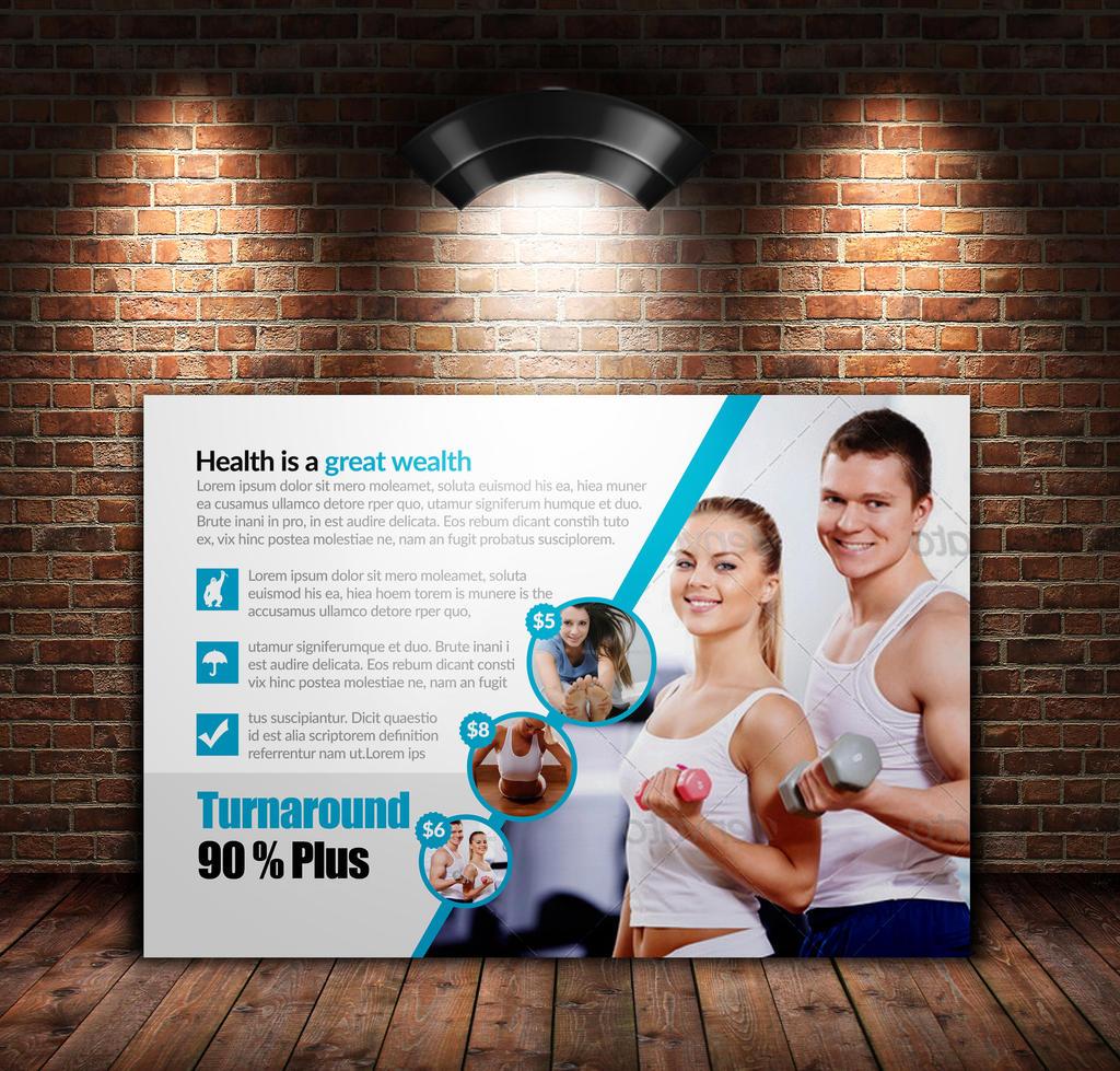 Fitness Postcards by Designhub719 on DeviantArt