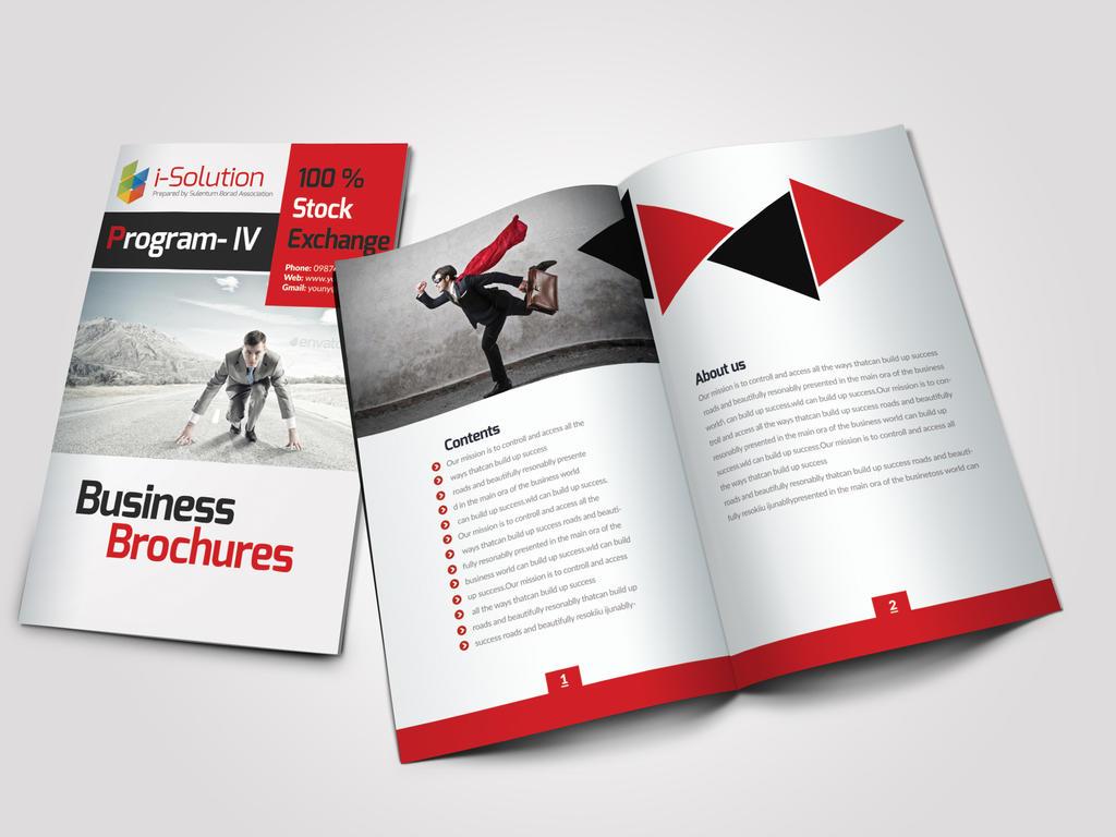 Bi Fold Business Catalog / Brochure by Designhub719