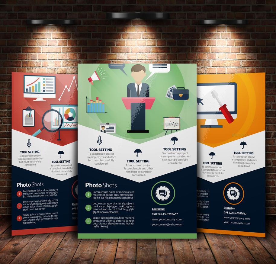 SEO / Web Flyer Template By Designhub719 ...