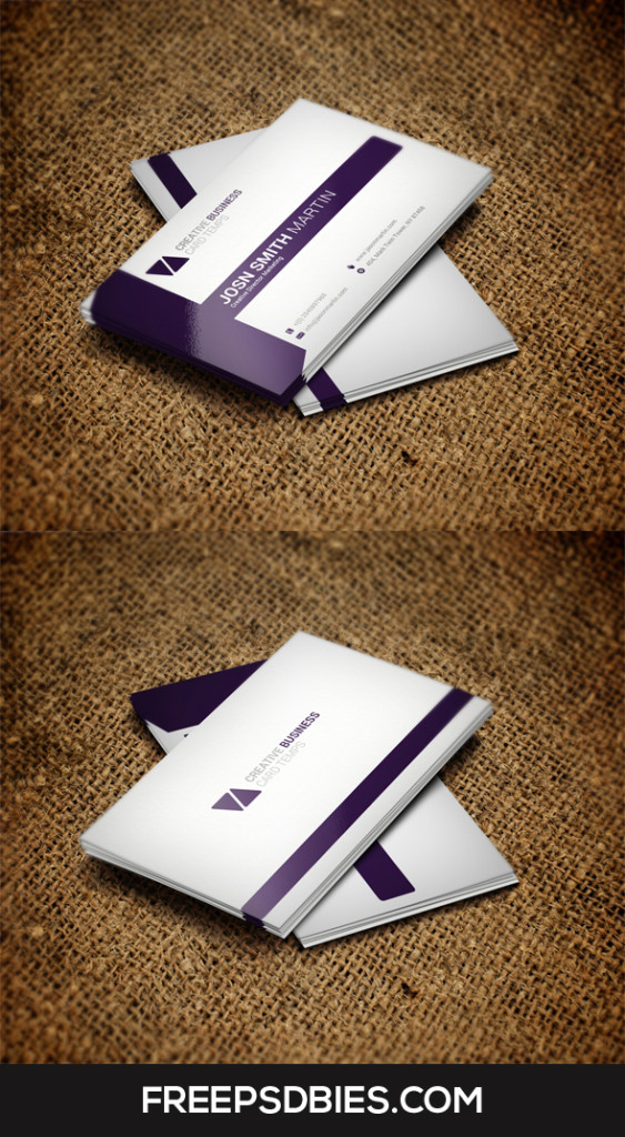Best business card free psd template preview imag by for Best business card designs 2016