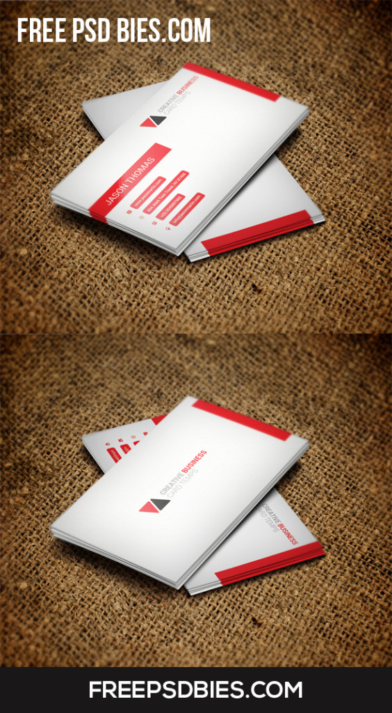 Best business card free psd template by designhub719 on for Best business card designs 2016