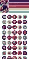 Flat Icons Set Free Download  Socila Media Icons S