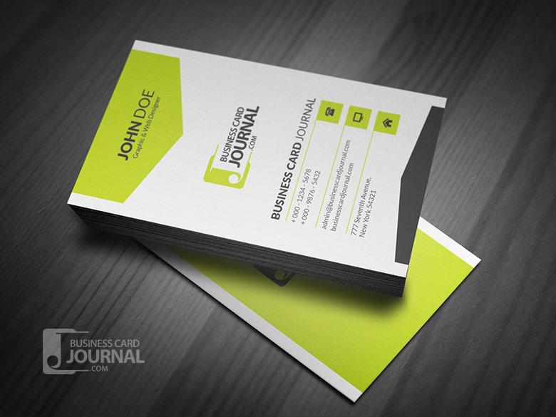 Corporate Style Vertical Business Card Template By Designhub719 On DeviantArt