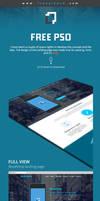 Free Landing Page PSD Template by Designhub719