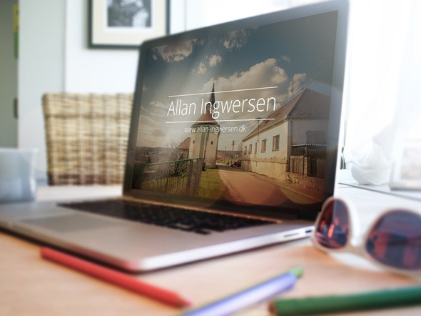 Free 4 Laptop Psd Mockup Download by Designhub719