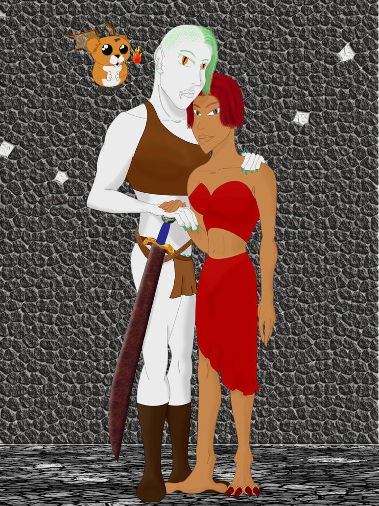 Jord and Malaika by Ciara06