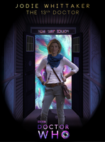 Jodie Whittaker - The 13th Doctor by AgentRustyFox