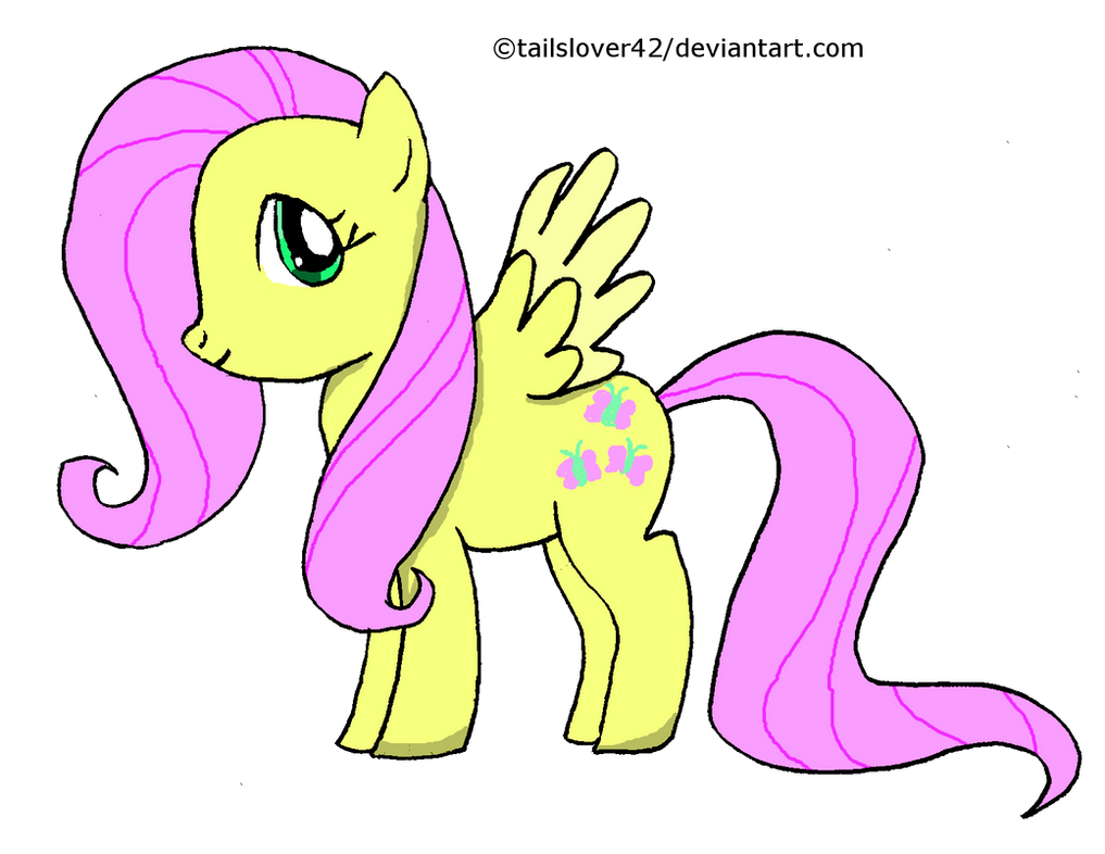 fluttershy practice by tailslover42