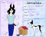 Happy tails- Dog: Tootsie