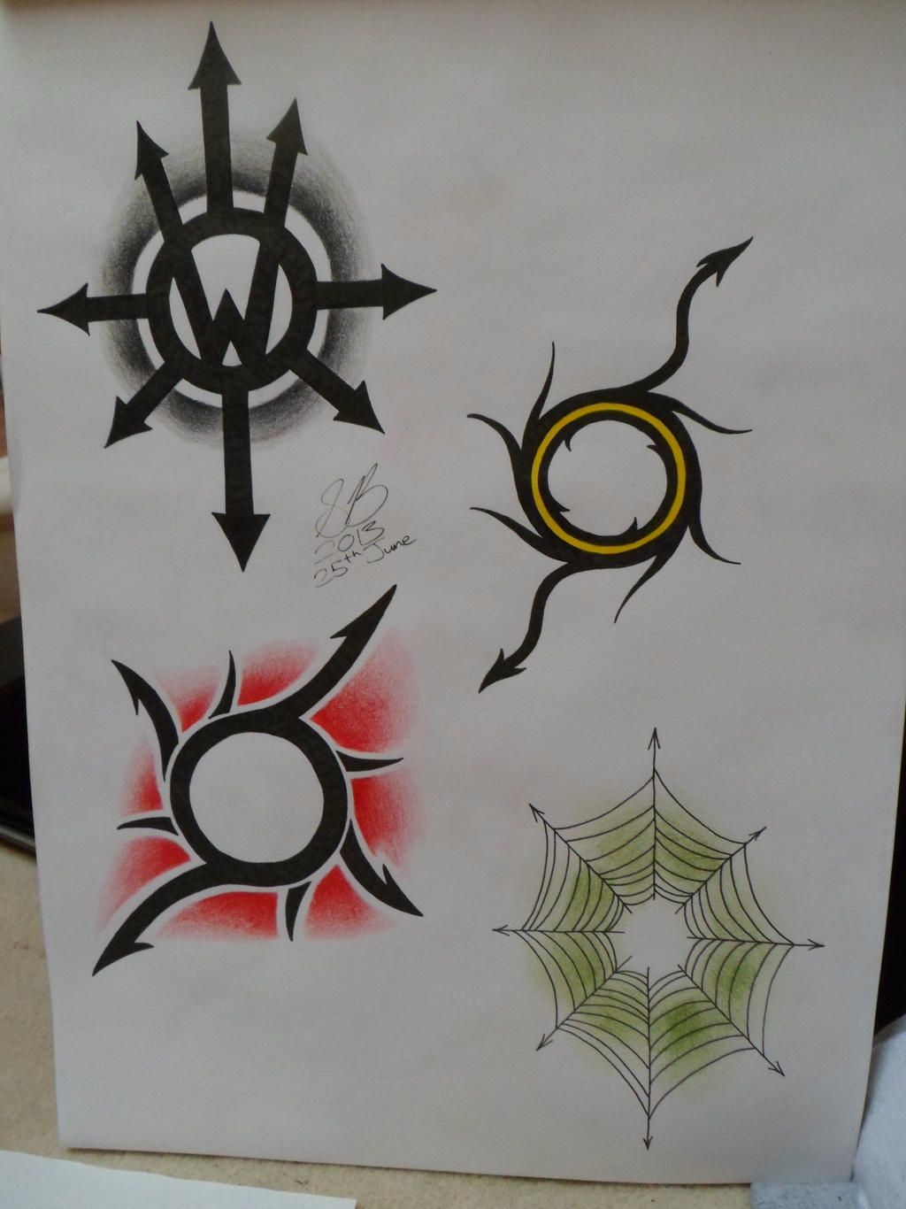 chaos symbol request by boulger on deviantart. Black Bedroom Furniture Sets. Home Design Ideas