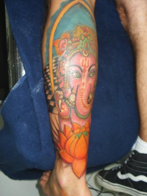 ganesha tattoos. hairstyles Ganesh Tattoo - Rate My Ink ganesha tattoos. lotus tattoos ganesh