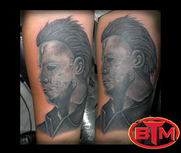 Michael myers halloween 2007 by fbatman666 on deviantart for Michael myers tattoo