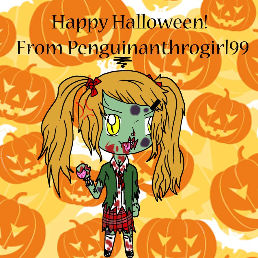 Happy Halloween 2014! by Penguinanthrogirl99