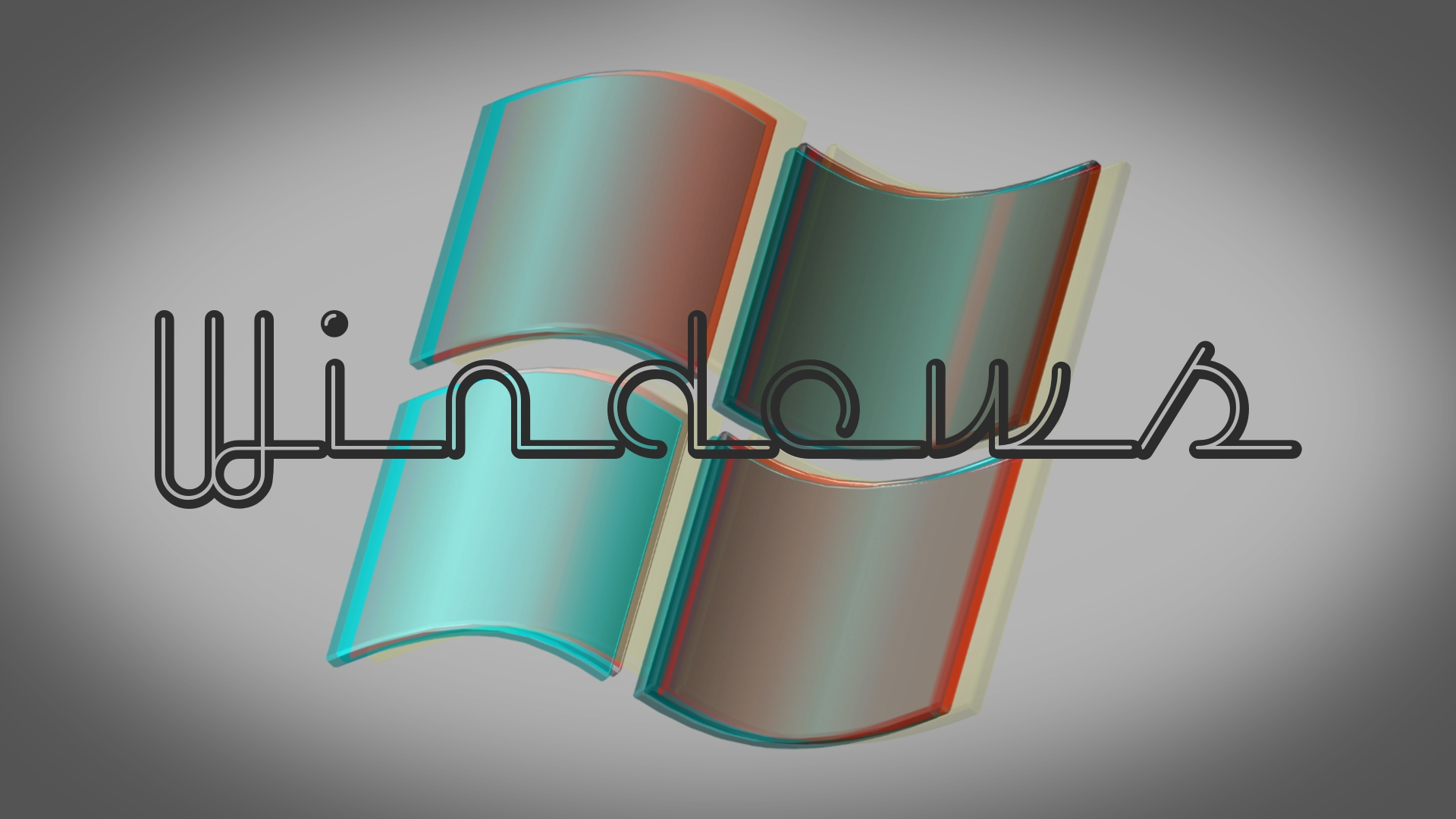 Retro Look Windows Wallpaper 1920x1080 By Wyster12 On