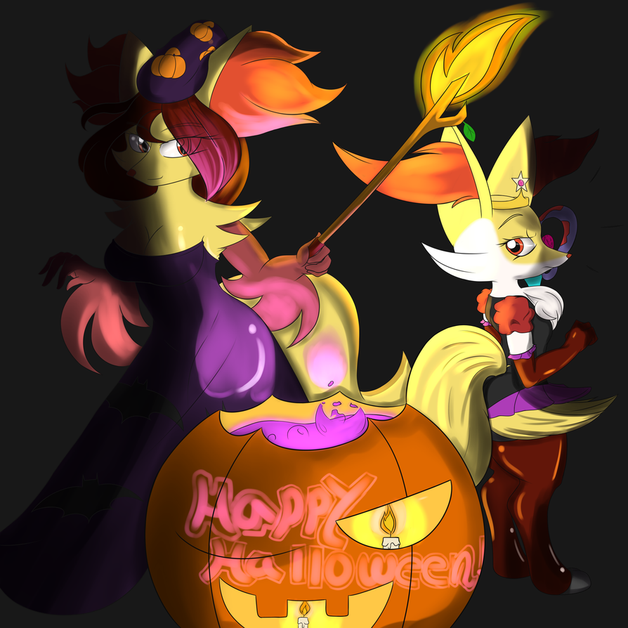 Magical Halloween by Aerospine