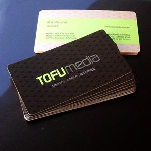 TOFUMEDIA Business Cards by tofumedia