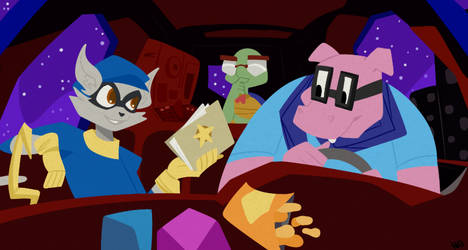 Sly Cooper Redraw (2016)