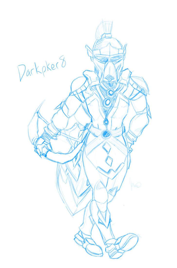 Darkpker8 Runescape Sketch by TapSkill