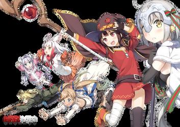 Anime Mashup Render by Nipponzki