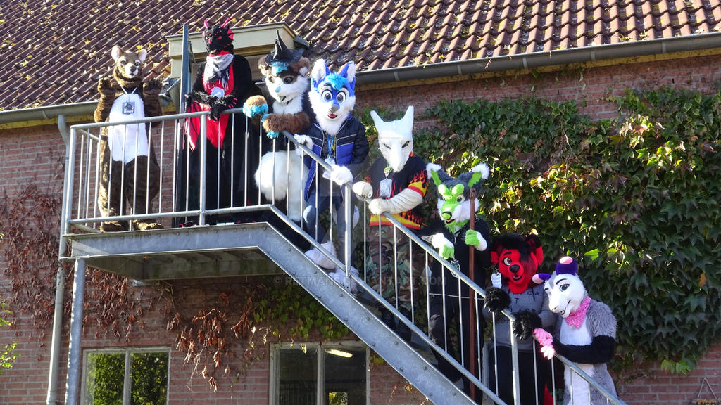 youtube video halloween furwalk kampen 2016 by retmans