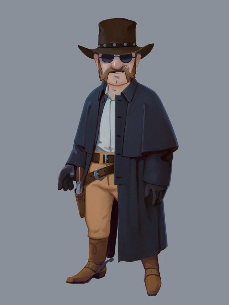 Gunfighter by mechannick on deviantart - Gunfighter wallpaper ...