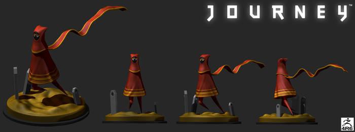 Journey - 3D Diorama