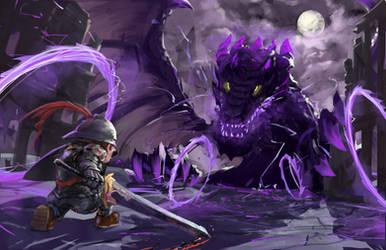 Mario Odyssey Ruined Kingdom by nolan192