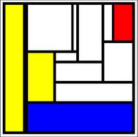 Mondrian Fake 1 by GarrettNelson