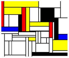 Mondrian Fake 2 by GarrettNelson