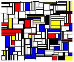 Mondrian Fake 3 by GarrettNelson