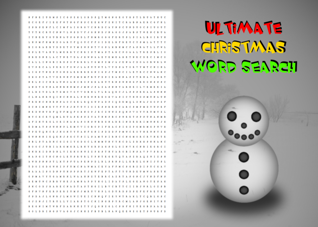 Ultimate Christmas Word Search by LiquidFrogStudios