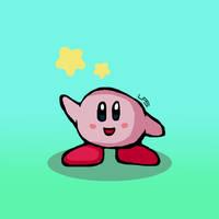 Kirby by LiquidFrogStudios
