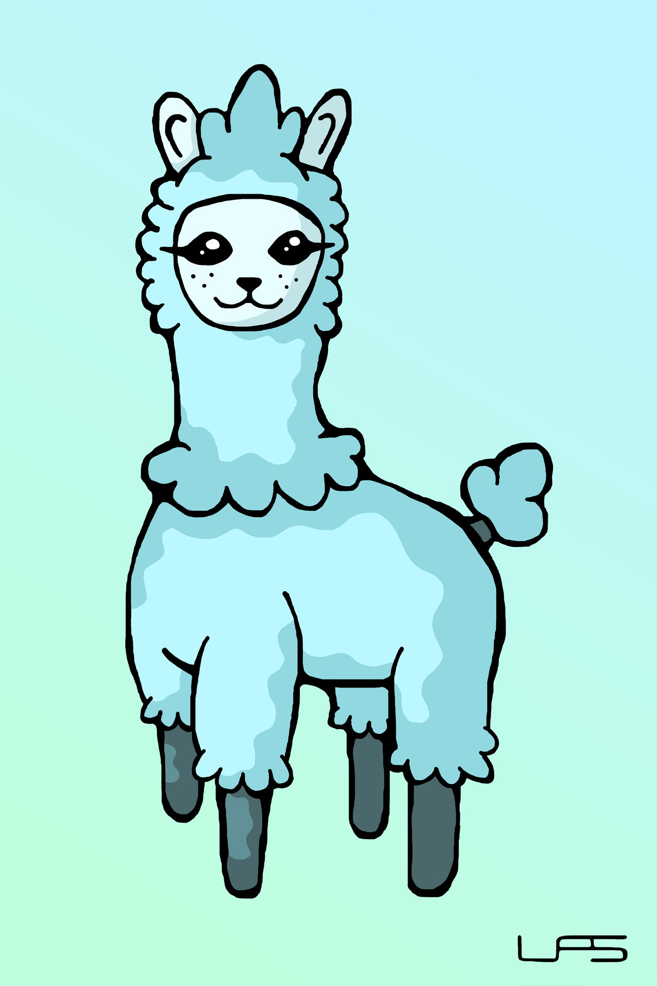 Floofy Llama Adopt (OPEN)