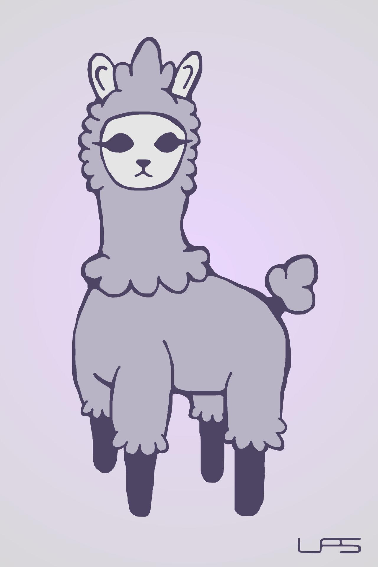 Ghostly Llama of Death