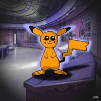 SHINY Pikachu! by LiquidFrogStudios